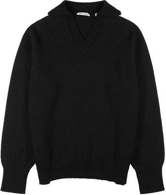 Our Legacy Black wool jumper