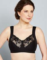 Miss Mary Of Sweden Miss Mary Cotton and Lace Non Wired Bra