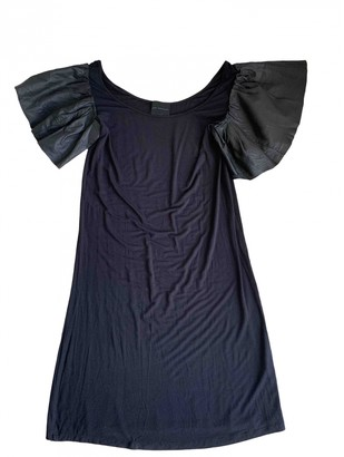Hotel Particulier Black Cotton Dress for Women