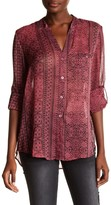 KUT from the Kloth Jasmine Print Blouse