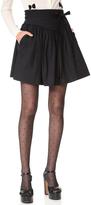 Marc Jacobs Yoke Skirt with Waist Tie