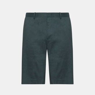 Theory Good Linen Curtis Short