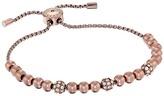 Michael Kors Colored Metal and Pavé Beaded Adjustable Slider Bracelet