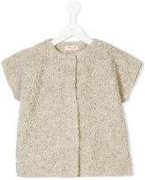 Amelia Milano fluffy buttoned knit jacket