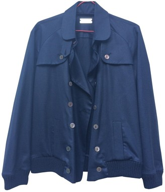 Alexis Mabille Navy Wool Jackets