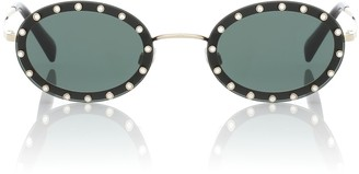 Valentino Oval sunglasses