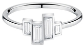 Finn Baguette Diamond Ring - White Gold