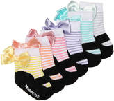 Trumpette Girls Lillys Infant Ankle Socks - 6 Pack -Multicolor