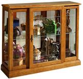 Darby Home Co Purvoche Console Curio Cabinet