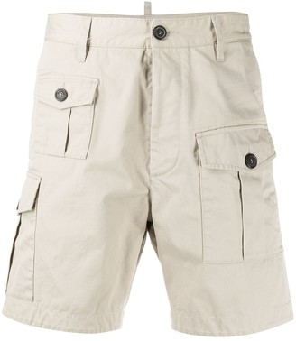 DSQUARED2 Pocket Detail Cargo Shorts