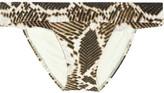 Vix Swimwear Vix Macau snake-print bikini briefs
