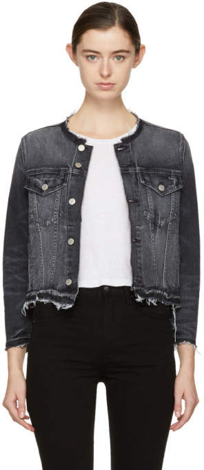 Amo Black Denim Lola Jacket