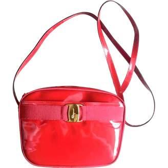 Salvatore Ferragamo Red Patent leather Handbags