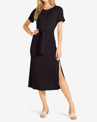 Express Bb Dakota Tie Front T-Shirt Dress