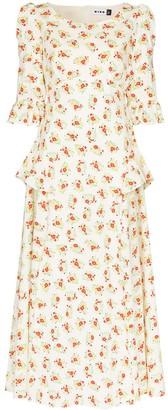 Rixo Quinn Garden Ditsy dress