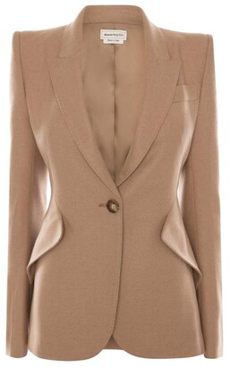 Alexander McQueen Tailored Wool Blazer