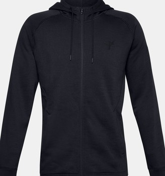 Under Armour Men's Project Rock Charged Cotton Fleece Full Zip