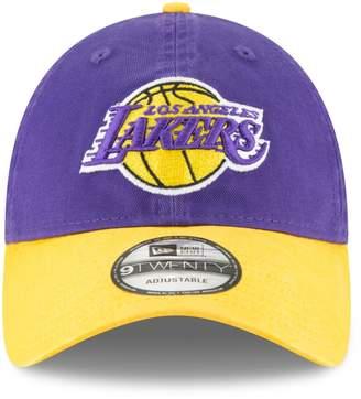New Era 9Twenty Los Angeles Lakers Adjustable Baseball Cap