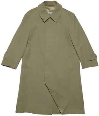 Aquascutum London Brown Wool Trench Coat for Women