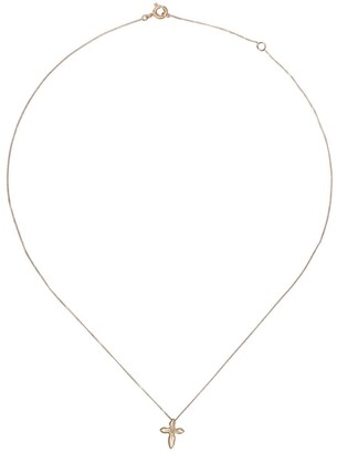 Pascale Monvoisin 9kt yellow and rose gold diamond Emile necklace