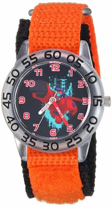 Disney Boys Big Hero 6 Analog-Quartz Watch with Nylon Strap