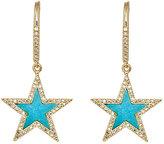 Jennifer Meyer Women's Star Drop Earrings