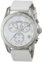 Victorinox Women's Quartz Watch Analogue Display and Leather Strap 241418