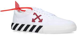 Off-White Off White Canvas Vulcanized Sneakers