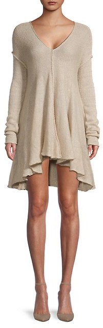 Free People Dancing In The Forest Knit Dress