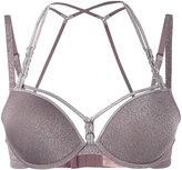 Marlies Dekkers Manjira push up bra - women - Nylon/Polyester/Spandex/Elastane/Metallic Fibre - 70A