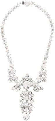 Miu Miu Queen crystal embellished necklace
