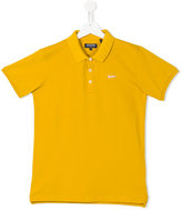 Woolrich Kids - classic polo shirt - kids - Cotton/Spandex/Elastane - 16 yrs