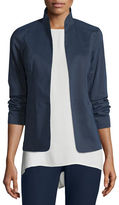 Eileen Fisher Polished Ramie Stretch Jacket, Plus Size