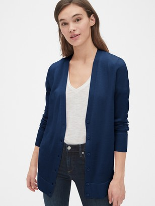 Gap Boyfriend Cardigan in Merino Wool
