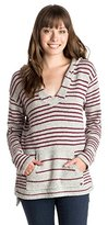 Roxy Junior's Mellie Hooded Poncho Sweater