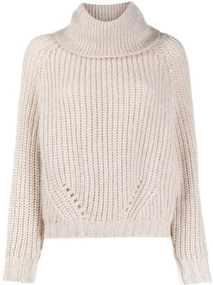 Ma Ry Ya Roll Neck Chunky Knit Jumper