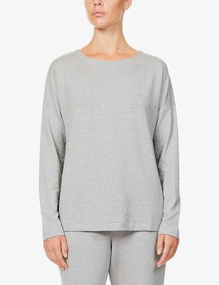 Hanro Balance stretch-jersey long sleeve T-shirt