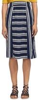 Whistles Adina Striped Skirt