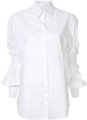 MM6 MAISON MARGIELA Ruffle Sleeve Shirt