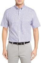 Nordstrom Men's Smartcare(TM) Regular Fit Short Sleeve Sport Shirt