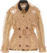 Maison Margiela Cloque Short Trench Coat