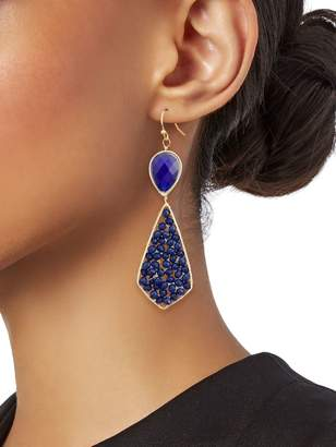 Panacea Beaded Teardrop Earrings