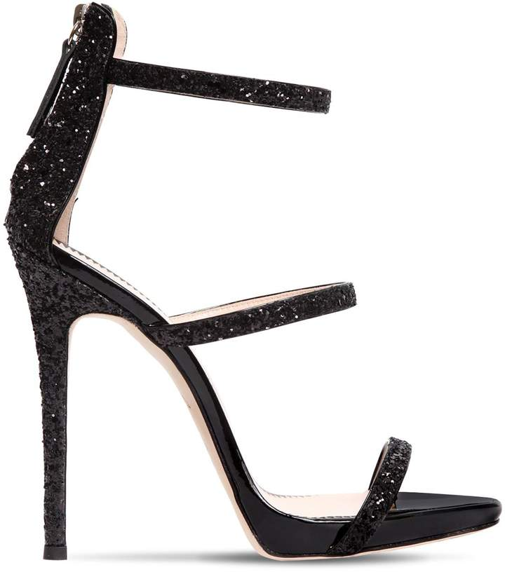 Giuseppe Zanotti Design 110mm Harmony Glittered Sandals