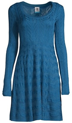 M Missoni Scoopneck T-Shirt Dress