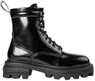 Tony Bianco Volcano Black Hi Shine Ankle Boots