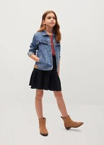Thumbnail for your product : MANGO Cotton flared skirt