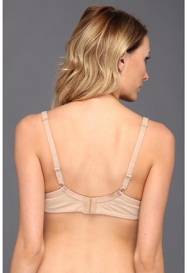 Le Mystere Haute Curve Cotton Bump Bra 8746