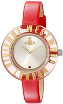 Vivienne Westwood Women's VV032RD Clarity Red Watch