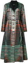 Giorgio Armani printed dress style coat
