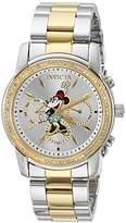 Invicta Women's 'Disney Edition' Quartz Metal and Stainless Steel Casual Watch, Color:Silver-Toned (Model: 24394)